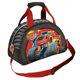 BAG DUFFEL bag with shoulder Strap - Gym - DISNEY BLAZE - 30943
