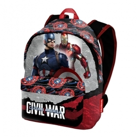 The BACKPACK Folder and School and Free Time MARVEL - CAPTAIN AMERICA and IRON MAN - 52781