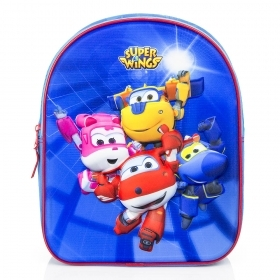 Folder Rucksack BACKPACK 3D - School Kindergarten SUPER WINGS