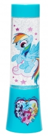 MINI LAMP LIGHT with GLITTER and Changes colors MY LITTLE PONY b