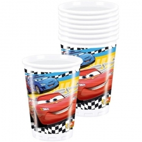 DECORATIONS Birthday Party GLASSES, paper DISNEY CARS