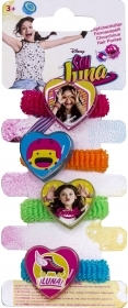 HAIR FERMATRECCINE ELASTIC 4 pieces DISNEY SOY LUNA