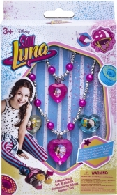 Set BRACELET NECKLACE AND 2 Rings Disney SOY LUNA