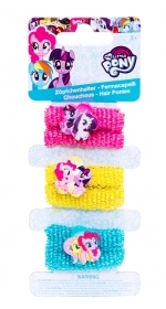HAIR FERMATRECCINE ELASTIC 4 pieces - MY LITTLE PONY