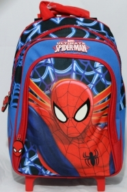 Backpack Trolley bag School DISNEY MARVEL SPIDERMAN 59043
