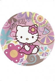 PIATTI PARTY HELLO KITTY 23CM