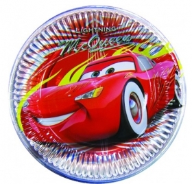 DECORATIONS Birthday Party 10 Plates DISNEY CARS 23 cm
