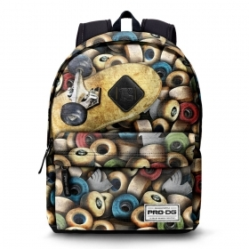 BAG BACKPACK Schoolbag Free Time - PRO DG - WHEELS