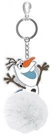 KEYCHAIN PLUSH with character in Vinyl DISNEY FROZEN - OLAF