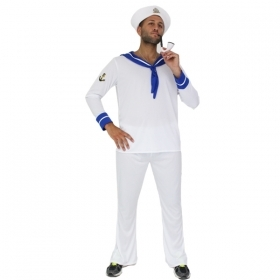 DRESS COSTUME CARNIVAL Mask - Adult SAILOR