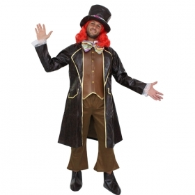 DRESS COSTUME CARNIVAL Mask - Adult THE mad HATTER