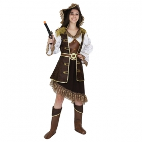DRESS COSTUME CARNIVAL Mask for Adults - THE PIRATE