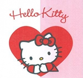 TOVAGLIOLI PARTY HELLO KITTY 20PZ