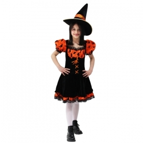 DRESS COSTUME CARNIVAL Mask - Halloween WITCH d