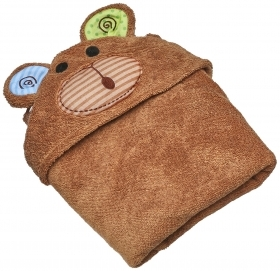 TOWEL Bathrobe for BABY With hood MAX THE MONKEY