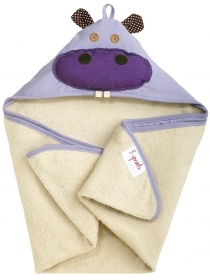 TOWEL Bathrobe Triangle With cap WALRUS