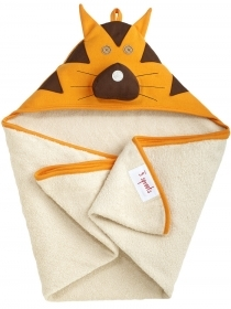 TOWEL Bathrobe Triangle hooded TIGER