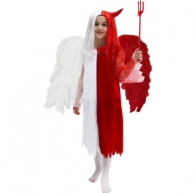 DRESS COSTUME CARNIVAL Mask / Halloween - ANGEL and DEVIL