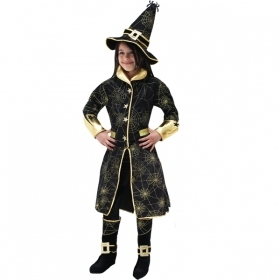 DRESS COSTUME CARNIVAL Mask / HALLOWEEN girl - WITCH OF the STARS