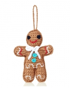 Christmas decoration for christmas Tree - little Man gingerbread - 10 cm