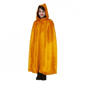 CLOAK with HOOD HALLOWEEN baby girl orange