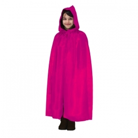 CLOAK with HOOD HALLOWEEN baby girl fuchsia