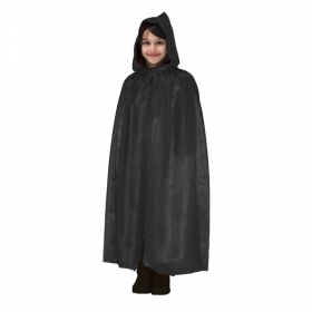 CLOAK with HOOD HALLOWEEN baby girl black