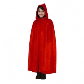 CLOAK with HOOD HALLOWEEN baby girl RED
