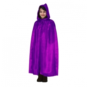 CLOAK with HOOD HALLOWEEN baby girl PURPLE