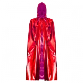 HOODED CAPE HALLOWEEN - Adult - red