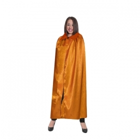 CLOAK HALLOWEEN for Adults - orange