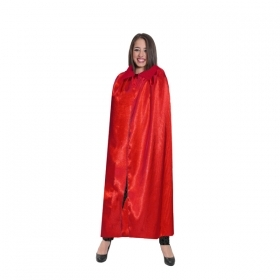 CLOAK HALLOWEEN for Adults - red