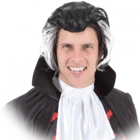 WIG for CARNIVAL / HALLOWEEN COUNT DRACULA adult