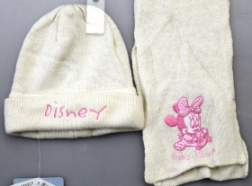 THE HAT AND SCARF, BABY DISNEY MINNIE MOUSE