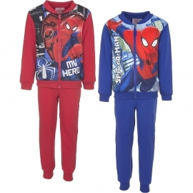 SUIT 2 PIECES DISNEY MARVEL SPIDERMAN 3 4 6 8 years