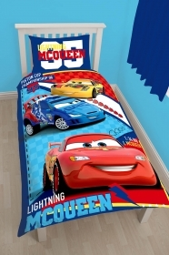 Duvet cover Bed REVERSIBLE - DISNEY CARS - 140 x 200 cm and pillowcase 60 x 70 cm