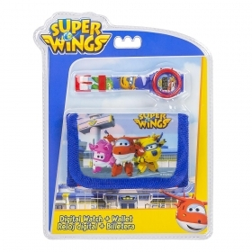 FANTASTIC SET WATCH wristwatch and WALLET - SUPER WINGS