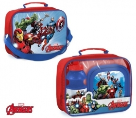 Set Lunch MARVEL AVENGERS THERMAL BAG plus a water BOTTLE plus BOWL