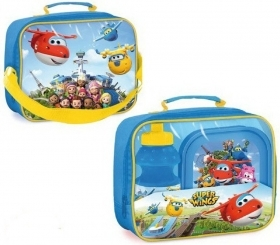 Set Lunch at SUPER WINGS THERMAL BAG with water BOTTLE and BOWL