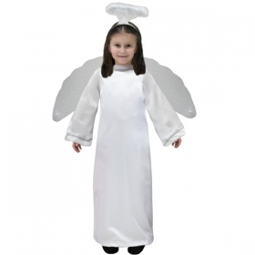 DRESS COSTUME Mask CHRISTMAS - baby ANGEL b