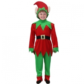 DRESS COSTUME Mask CHRISTMAS ELF - Child