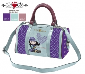 BAG HANDBAG in duffle bag with shoulder Strap Doll CLO' CLO'