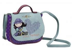 HANDBAG TRACOLLINA with Flap Doll CLO' CLO'