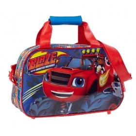 BAG DUFFEL bag with shoulder Strap - Gym - DISNEY BLAZE - 93724