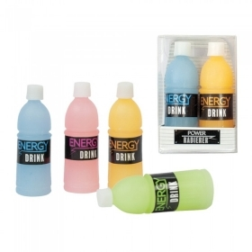 Eraser COLLECTION - FAVOR a post-PARTY Bottle Energy Drink