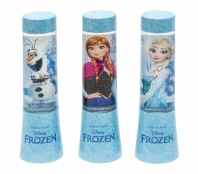 MINI LAMP LIGHT with GLITTER and Changes colors DISNEY FROZEN - ELSA ANNA OLAF