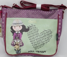 FANTASTIC HANDBAG Medium messenger bag - Doll CLO CLO