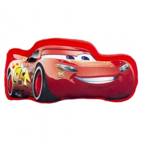 PLUSH PILLOW SHAPED DISNEY CARS 3 - LIGHTNING MCQUEEN
