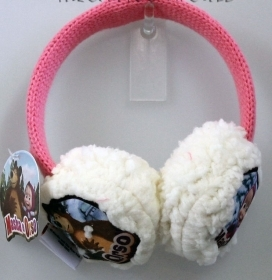 Fantastic Earmuffs Warmers ear MASHA and the BEAR