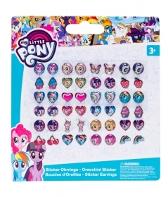 FANTASTIC SET - 24 Pairs of earring Stickers - MY LITTLE PONY